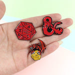 Dungeons & Dragons Enamel Pins!