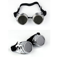 Steampunk Anti-Fog - Haze Gas Mask and Goggles! Great for Halloween, Cosplay, Festivals!