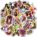 50 Pieces of DarkHorror Stickers!