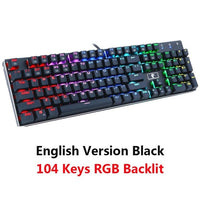 RGB Backlit USB Mechanical Keyboard! (Blue, Brown, Red Switch)