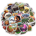 50 Pieces of CampingAdventure Stickers!