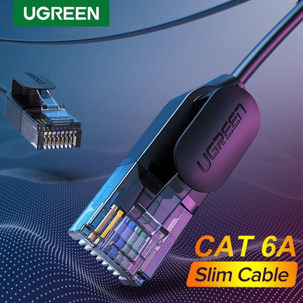 UGREEN Ultra-Slim Ethernet Cable - Cat 6A up to 10Gbps! - Funraiden