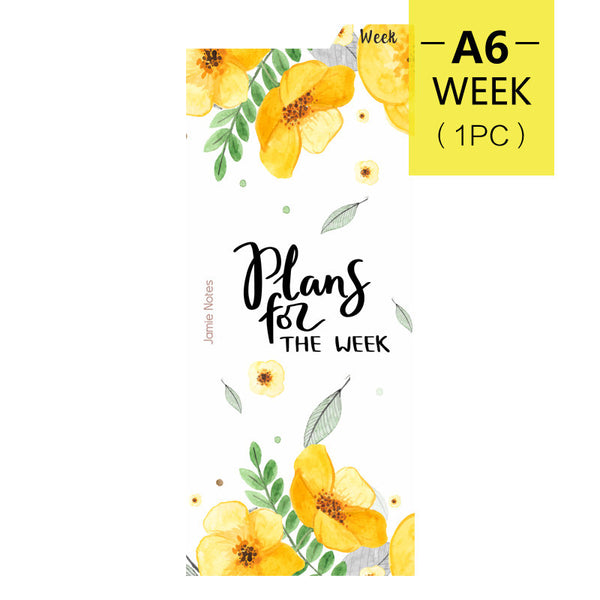 A5/A6 Planner Refills Index Divider / Ruler (Today/Week/Month)