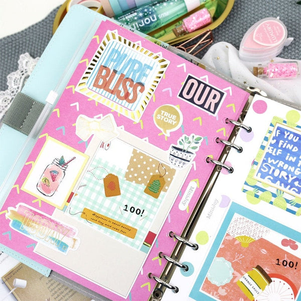A5/A6 Photo Album Binder Planner Refills (20 Sheets)