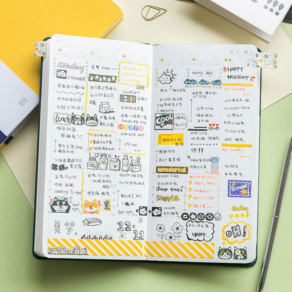 Hobonichi-Style 2020 Weeks Planner (176 Pages)
