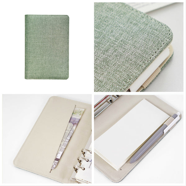 A5/A6/A7 Binder Planner with Linen Cover and Refills
