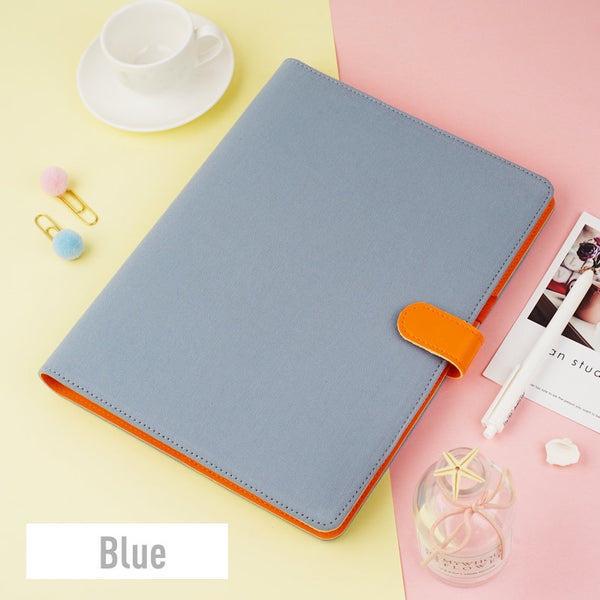 B5 Large Cotton Binder Planner with Refillable Inserts