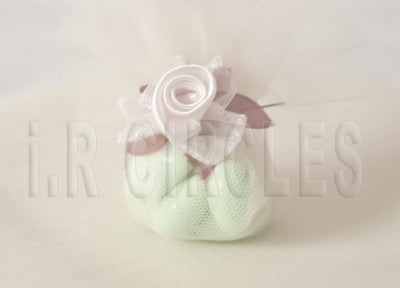 9 Inch Nylon Fabric wedding Tulle Circles