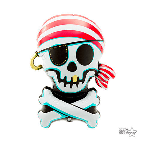 Jolly Roger Foil Balloon 29 Inches | Northstar Balloons