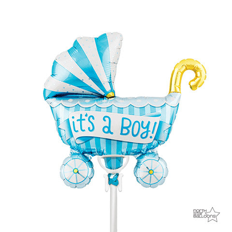 Boy Buggy Foil Balloon 14 Inches | Northstar Balloons