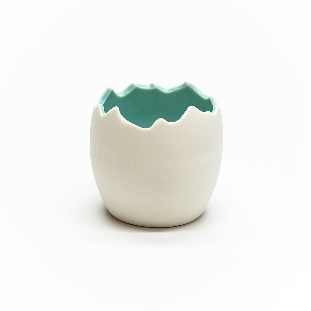 Easter Chickadee Pot 3.25 Inch X 3 Inch