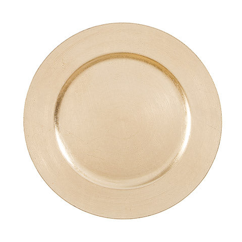 Gold Charger Plate 13 inches Pack of 6 Pieces
