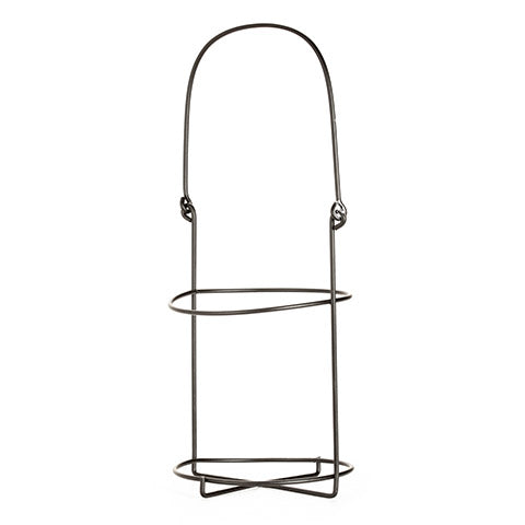 Wire Jar Holder - Black - 5 x 8 Inches