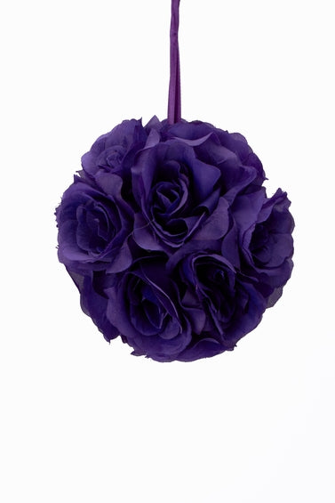 Flower Kissing Ball 7 Inch
