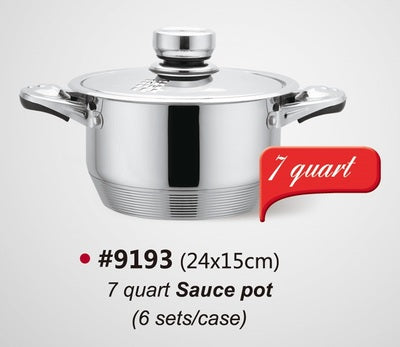 Maxcook Saucepan with Lid Pack of 4 Pcs
