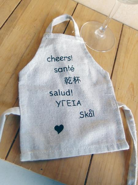 Wine Bottle Apron Pack of 6 Pieces