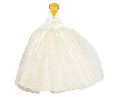 Quinceañera Champagne Bottle Dress