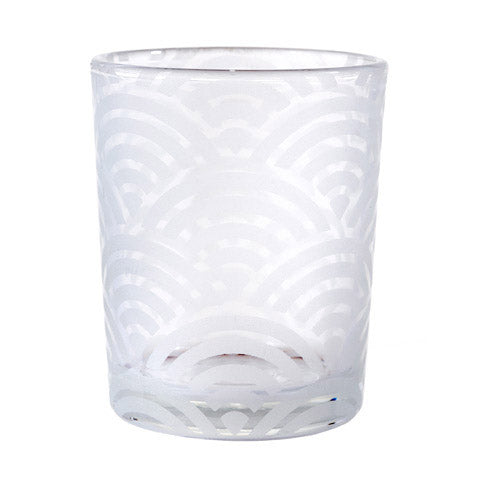 David Tutera Frosted Votive - Sand Blast Finish - 1 Piece