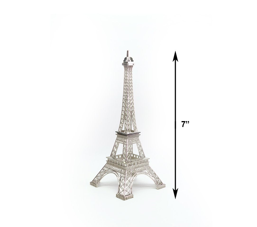 Metal Eiffel Towers Decor Statue Figurine Replica Centerpiece