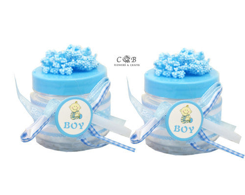 "Embellished Baby Shower Favor Boxes 2""- Pack of 12"