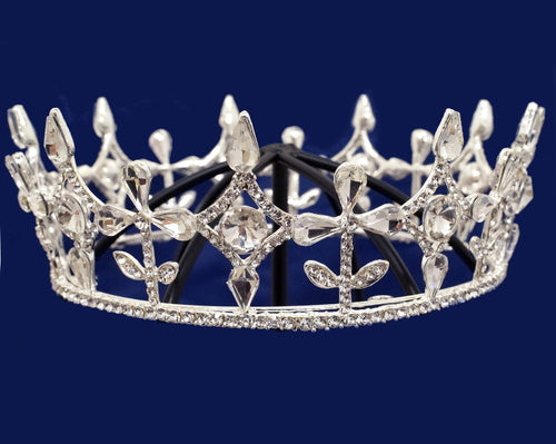 Crystal Tiara Rhinestone Full King Crown