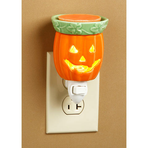 Ceramic Plug-In Wax Warmer - Jack-o'-Lantern Design