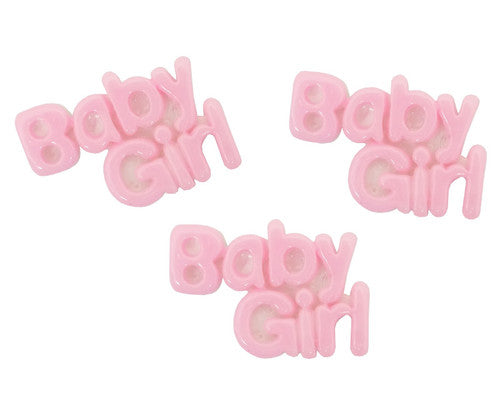 Mini Plastic Polyresin Baby Shower 1 Inch- Pack of 100 Pieces