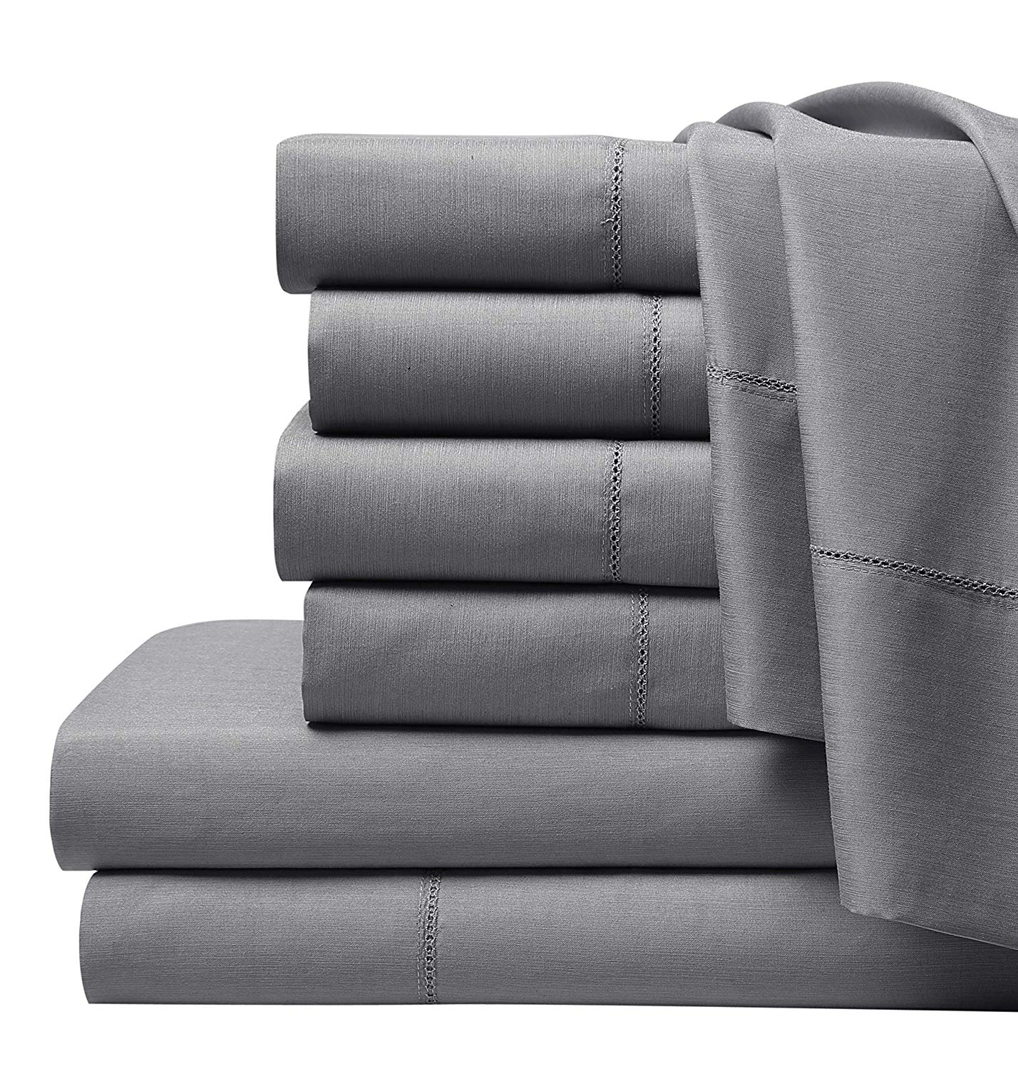SuperBeddings BAMBUSA 6 Pc Rayon Made from Bamboo Sheet Set