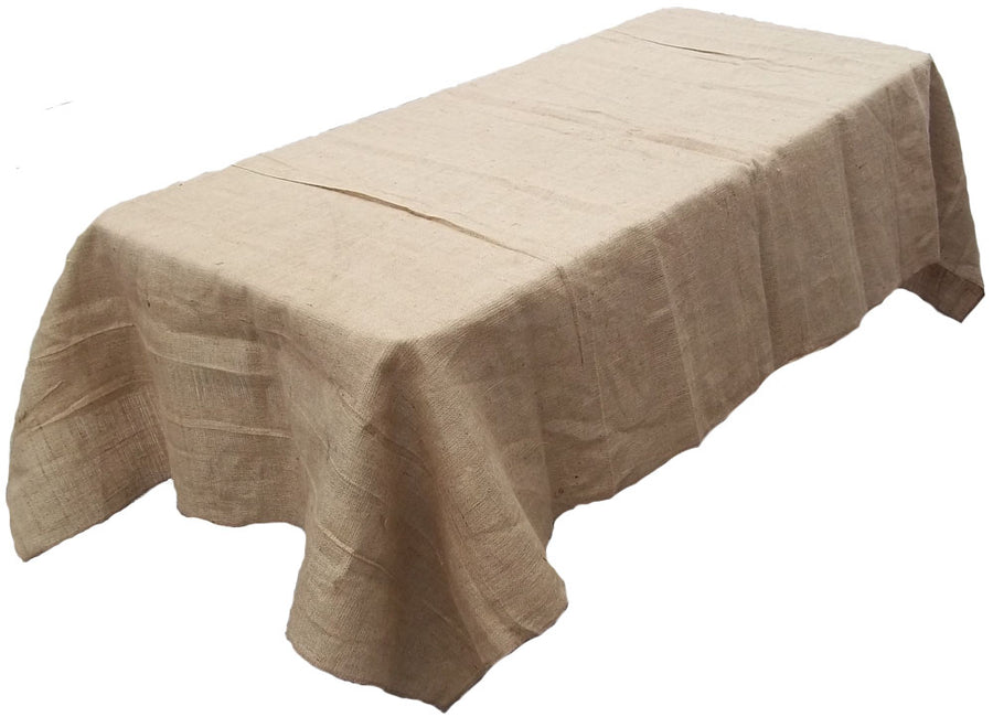 Jute Rectangle Table Cover 54 Inch x 54 Inch