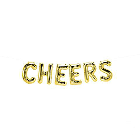 Script Word Balloon: Cheers 16 Inches | Northstar Balloons