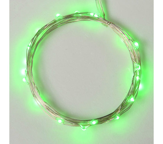 Wired String LED Light with 7 Ft Long 20 LED Micro Lights