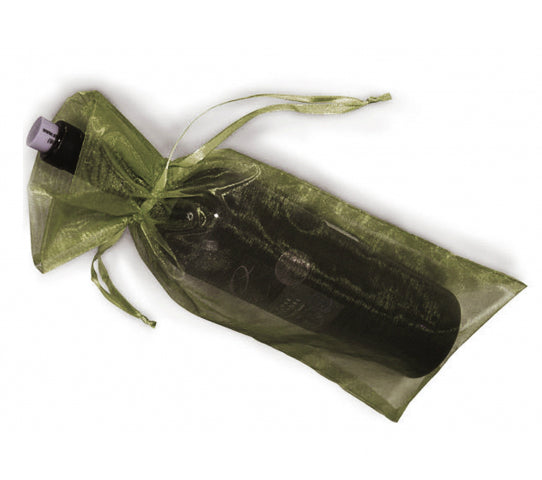 6 Inch x 15 Inch Organza Plain Sheer Gift Favor Bags Pack of 10