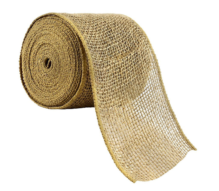 Natural Color Burlap Fabric Spool