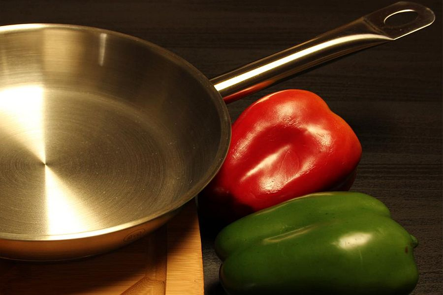 PRO-X Stainless Steel Skillet