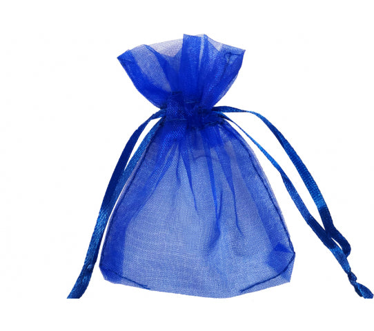 5 Inch x 7 Inch Organza Plain Sheer Gift Favor Bags Pack of 144