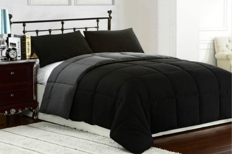 Comforter Set 2-Tone Reversible Down Alternative | SuperBeddings