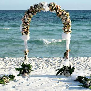 Metal Wedding Arch 55 Inch x 90 Inch