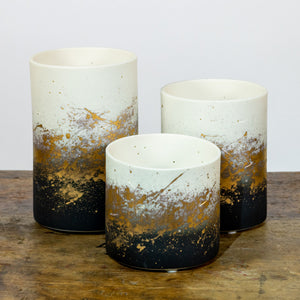 Galaxy Black Votive