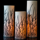 Tall Grass White Lantern