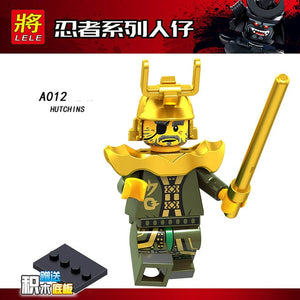 Single Sale LegoINGlys Ninjagoes Figure  IRON BARON LLOYD MASTER OF THE GOLDEN DRAGON Building Blocks Dolls Toys Children Gifts