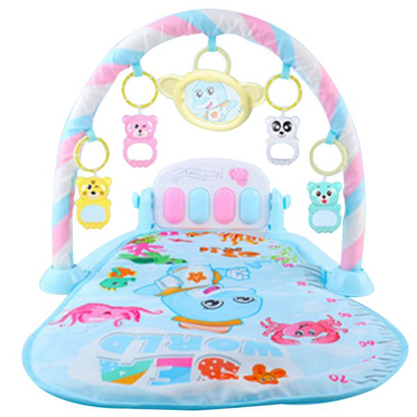 Baby Play Mat Kids Rug Educational Puzzle Carpet With Piano Keyboard And Cute Animal Playmat Baby Gym Crawling Activity Mat Toys