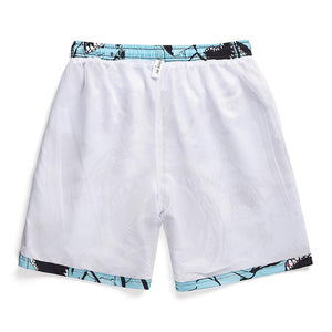 """SHARK"" PRINTED SHORTS"