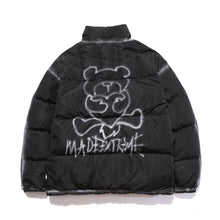 "Load image into Gallery viewer, ""LOVE BEAR"" PRINTED DOWN JACKET"