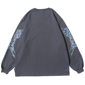 """ANGEL"" GRAFFITI SWEATSHIRT"