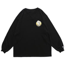 "Load image into Gallery viewer, ""REFLECTIVE FLOWERS"" PRINTED SWEATSHIRT"