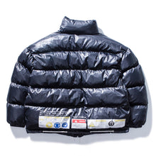 "Load image into Gallery viewer, ""WARNING TAGS"" COTTON JACKET"