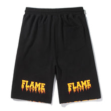 "Load image into Gallery viewer, ""FLAME SKULL"" PRINTED SHORTS"