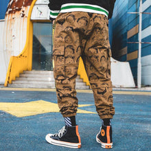 "Load image into Gallery viewer, ""FREESOULS"" CARGO JOGGERS"