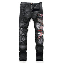 "Load image into Gallery viewer, ""PLEIN"" SKINNY JEANS"