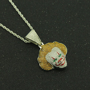CLOWN PENDANT NECKLACE